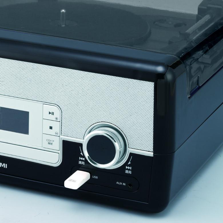 Koizumi SAD-9801 USBポート