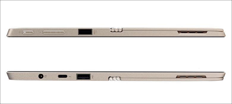 Lenovo Miix 720 側面