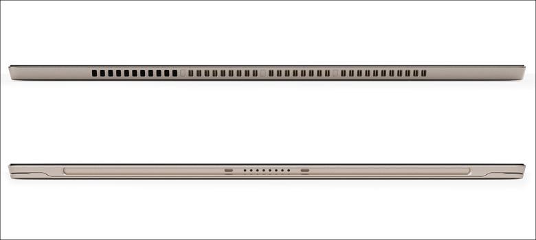Lenovo Miix 720 上下面