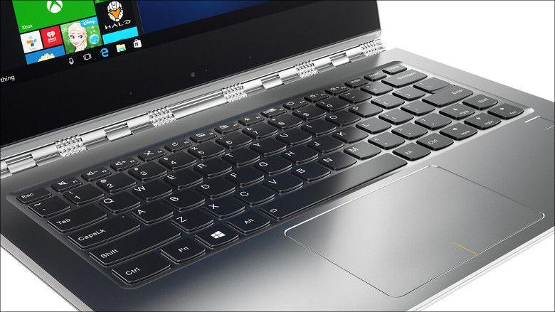 Lenovo YOGA 910 独特のヒンジ