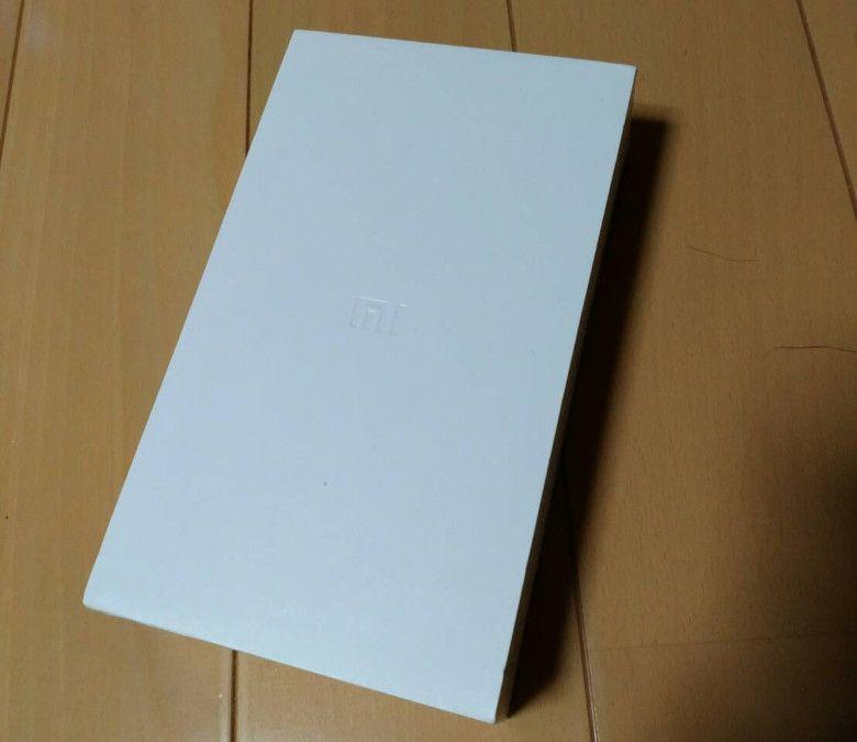 Xiaomi Mi 5Sの外箱