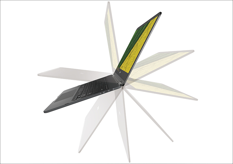 acer Spin 7 360度回転型