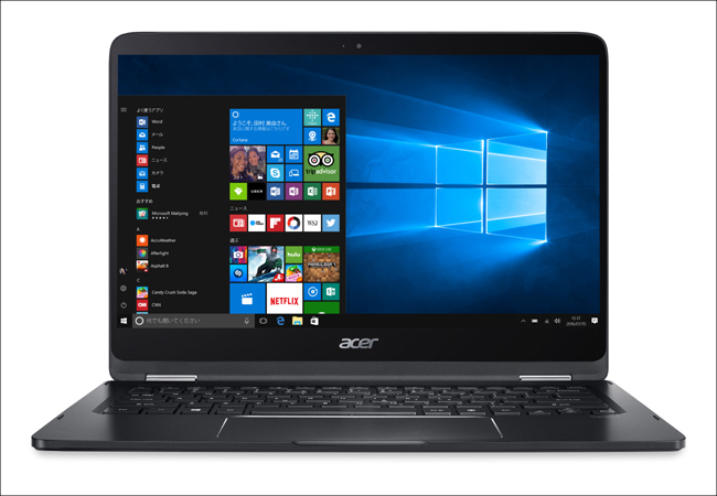 acer Spin 7 正面