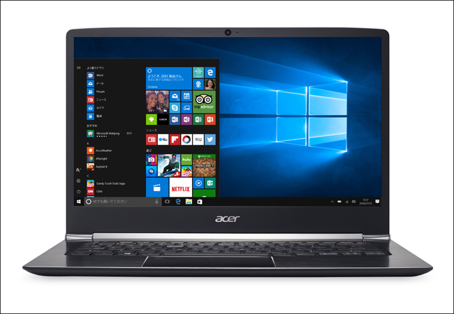 acer Swift 5 正面