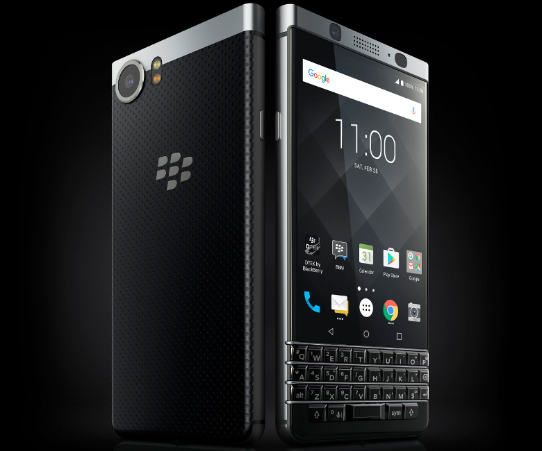 BlackBerry KEYone 筺体