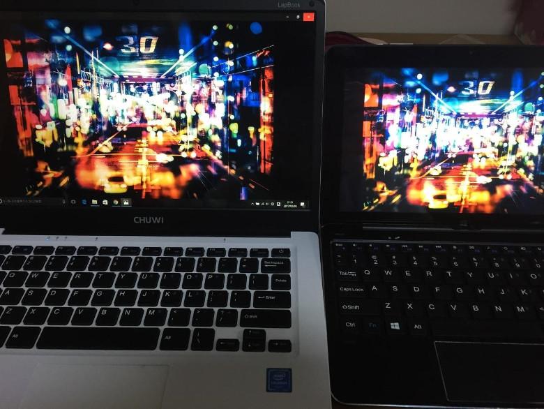 Chuwi LapBook 14.1 フィルムを貼って