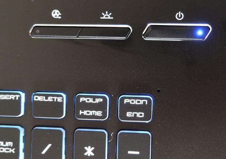 ドスパラ GALLERIA GKF1050TNF ボタン