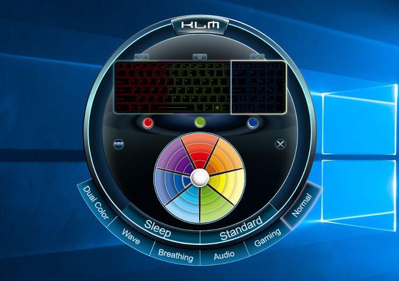ドスパラ GALLERIA GKF1050TNF キーボード用ソフト