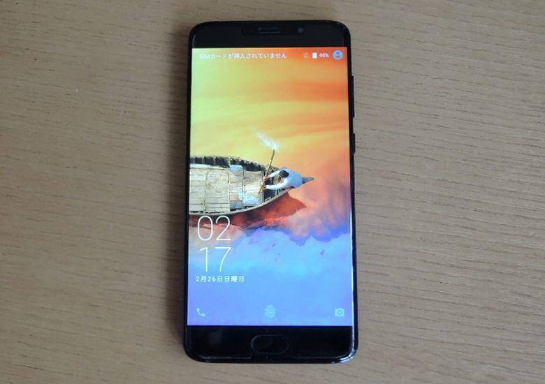 Elephone S7 HELIO X25 VERSION 前面