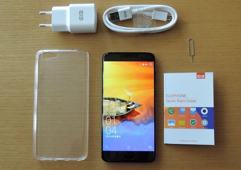 Elephone S7 HELIO X25 VERSION 同梱物