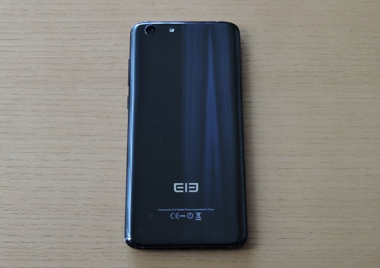 Elephone S7 HELIO X25 VERSION 背面