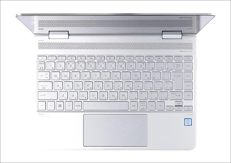 HP Spectre x360 キーボード