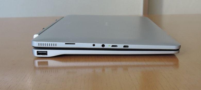 Jumper EZpad 6 キーボード接続 側面