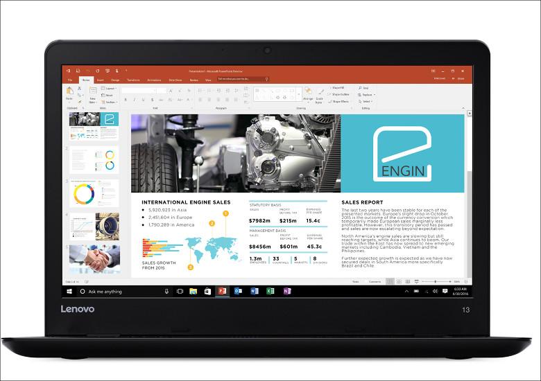 Lenovo ThinkPad 13 2017 正面