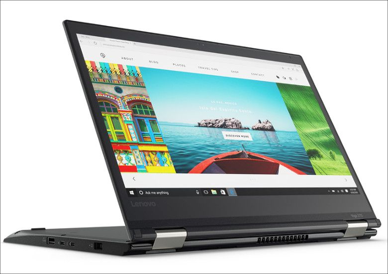 Lenovo ThinkPad Yoga 370 スタンドモード