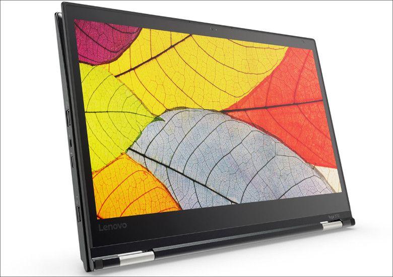 Lenovo ThinkPad Yoga 370 タブレットモード