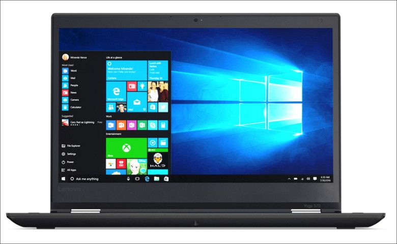 Lenovo ThinkPad Yoga 370 正面