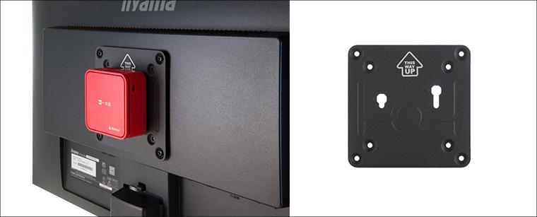 mouse×JUSTSYSTEMS LUV MACHINES nano Limited Edition VESAマウンタ