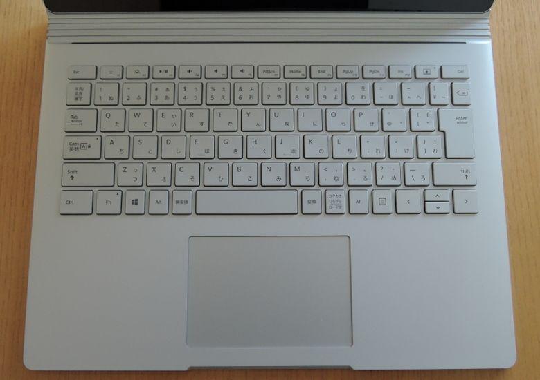 Microsoft SurfaceBook キーボード