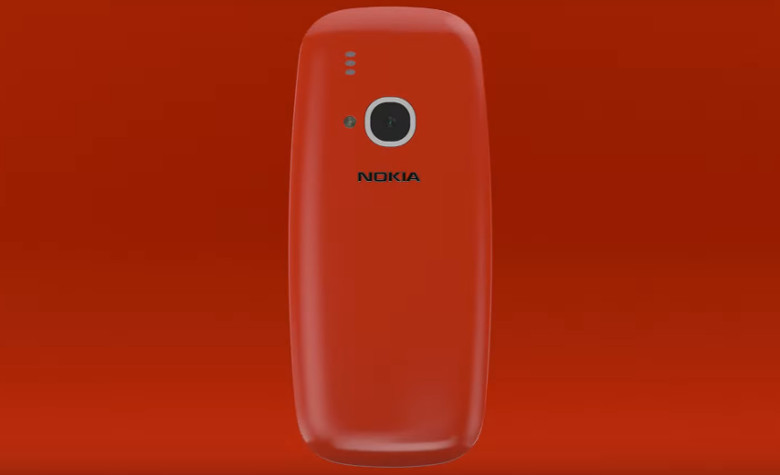 Nokia 3310 背面