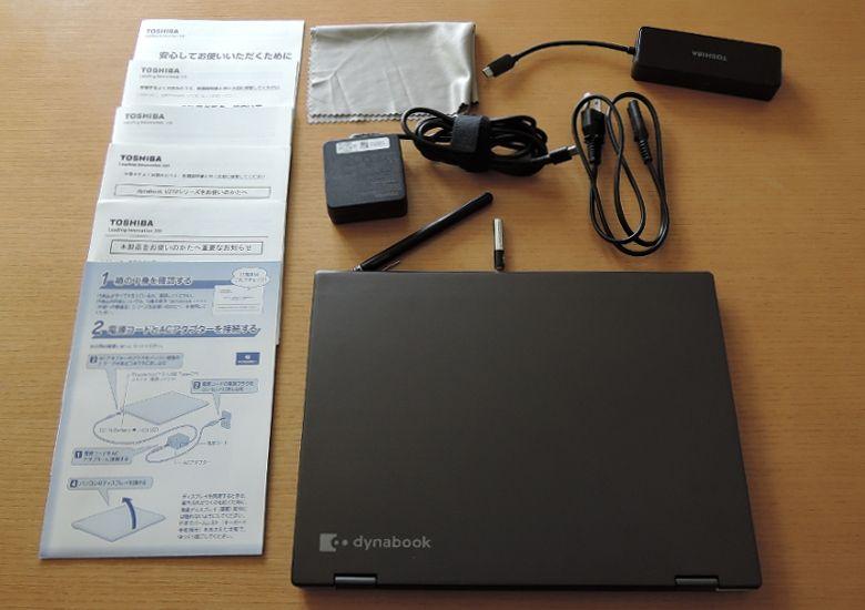 東芝 dynabook VZ72/B 同梱物
