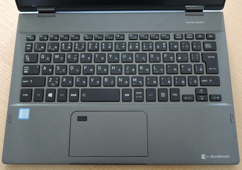 東芝 dynabook VZ72/B キーボード