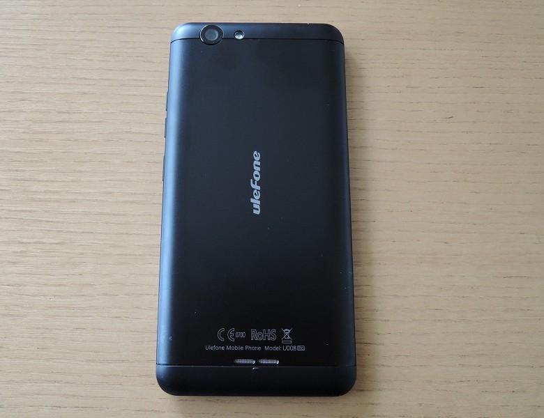 Ulefone U008 Pro 背面
