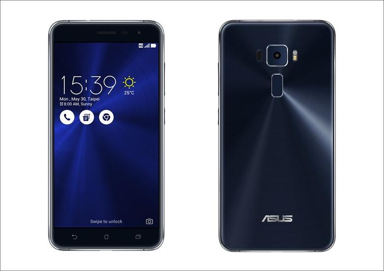 ASUS ZenFone 3 (ZE552KL) サファイアブラック