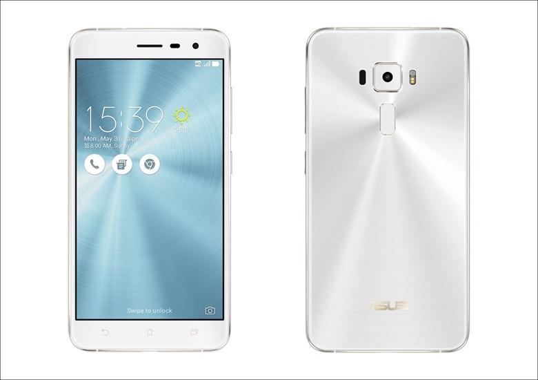 ASUS ZenFone 3 (ZE552KL) パールホワイト
