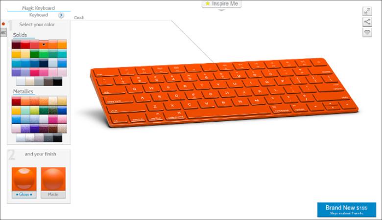 ColorWare Apple Magic Keyboard