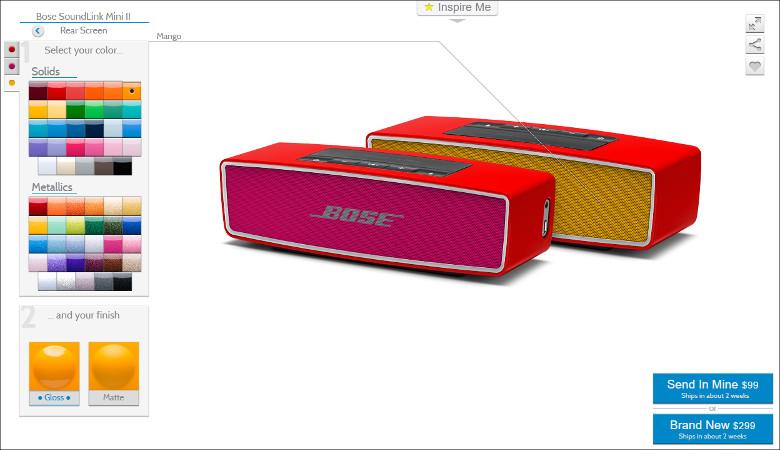 ColorWare BOSEのスピーカー