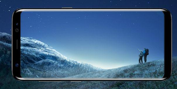 Galaxy S8 デザイン