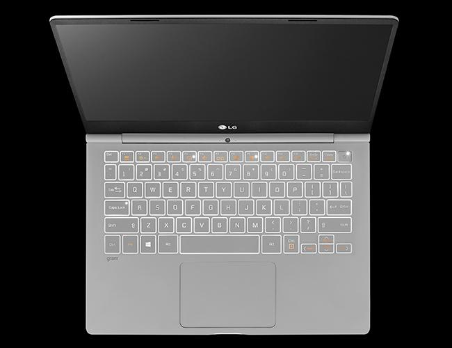 LG Gram 2017 キーボード