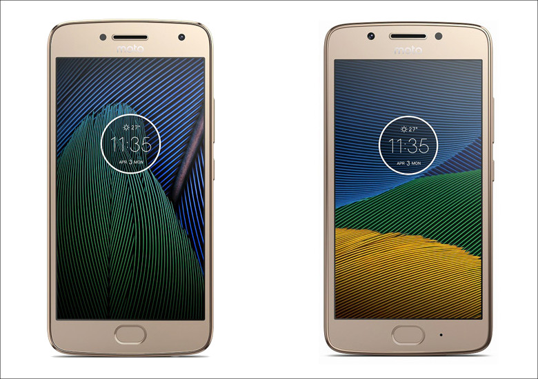 Motorola Moto G5 / G5 Plus
