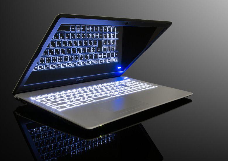 マウス m-Book B502S キーボードバックライト