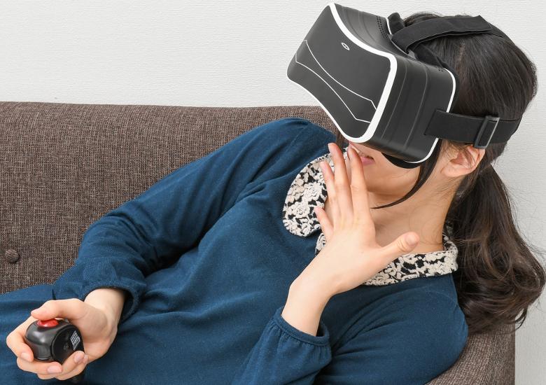 上海問屋 Android OS搭載 VRゴーグル型 2D/3Dメディアプレーヤー
