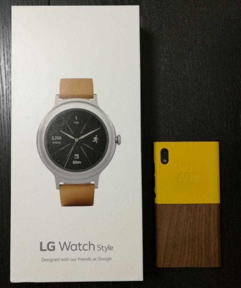 LG Watch Style 外箱