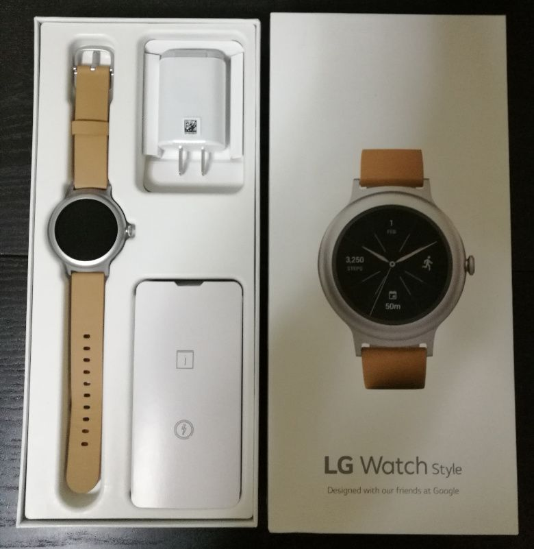 LG Watch Style 外箱2