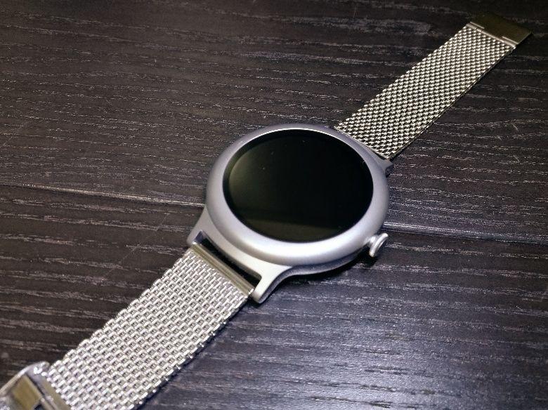 LG Watch Style ミラネーゼに交換後