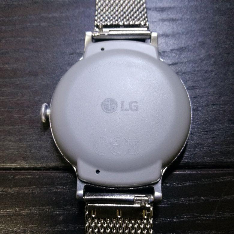 LG Watch Style 裏側
