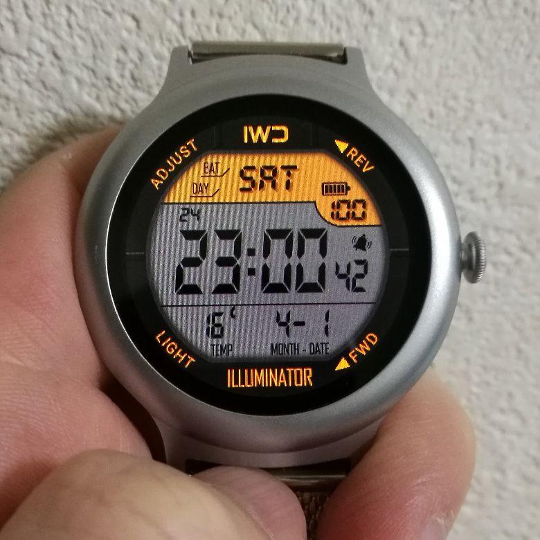 LG Watch Style ディスプレイ デジタル