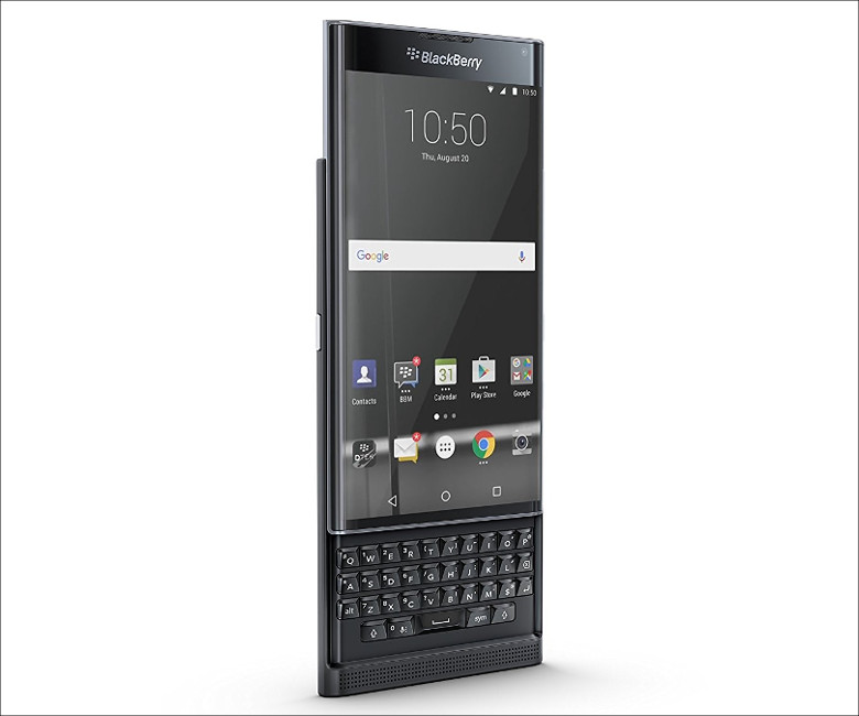 BlackBerry Priv スライド式キーボード