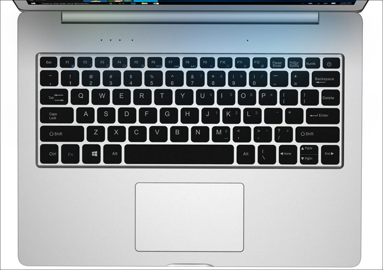Chuwi LapBook 12.3 キーボード