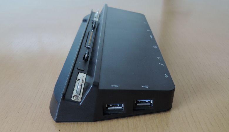 Fujitsu Arrows Tab WQ2/B1 クレードル 右側面