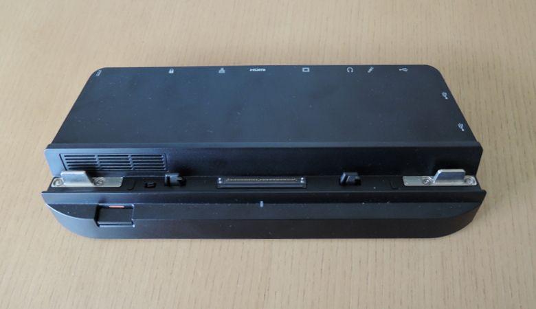 Fujitsu Arrows Tab WQ2/B1 クレードル 前面