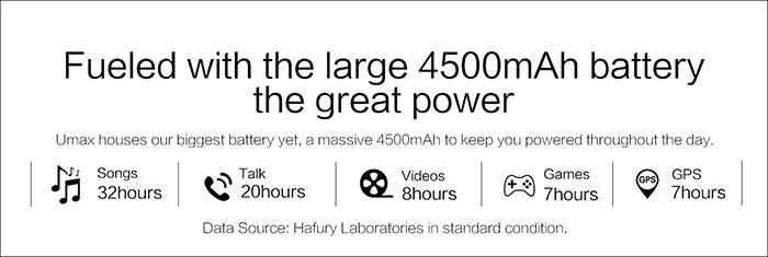 HAFURY UMAX 3 バッテリー