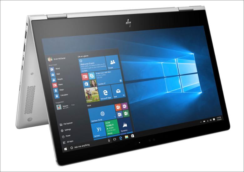HP EliteBook x360 1030 G2 テントモード