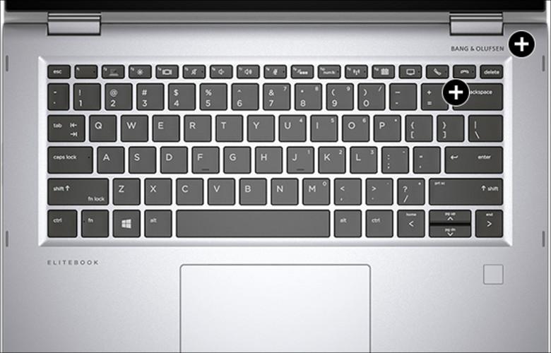 HP EliteBook x360 1030 G2 キーボード