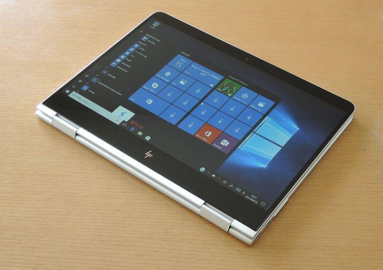 HP Spectre x360 タブレットモード
