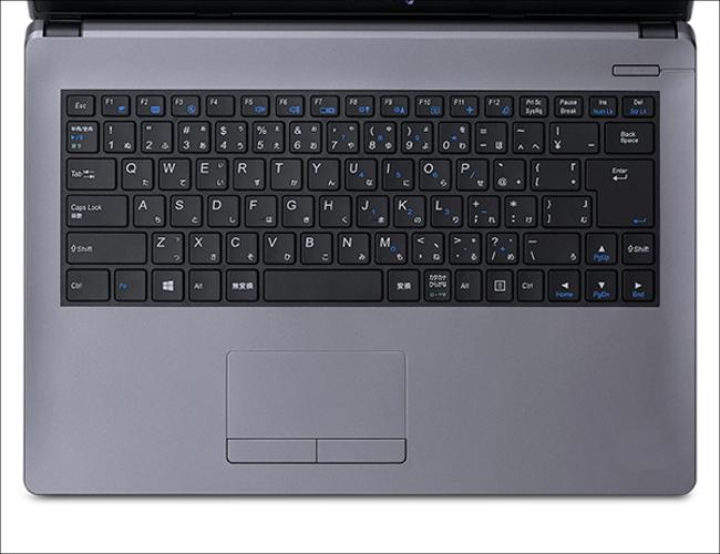iiyama STYLE-14HP012-C-CE キーボード